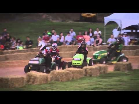 2015 STA-BIL Series #LawnMower Racing at Bowles Farms in St. Mary's Coun...