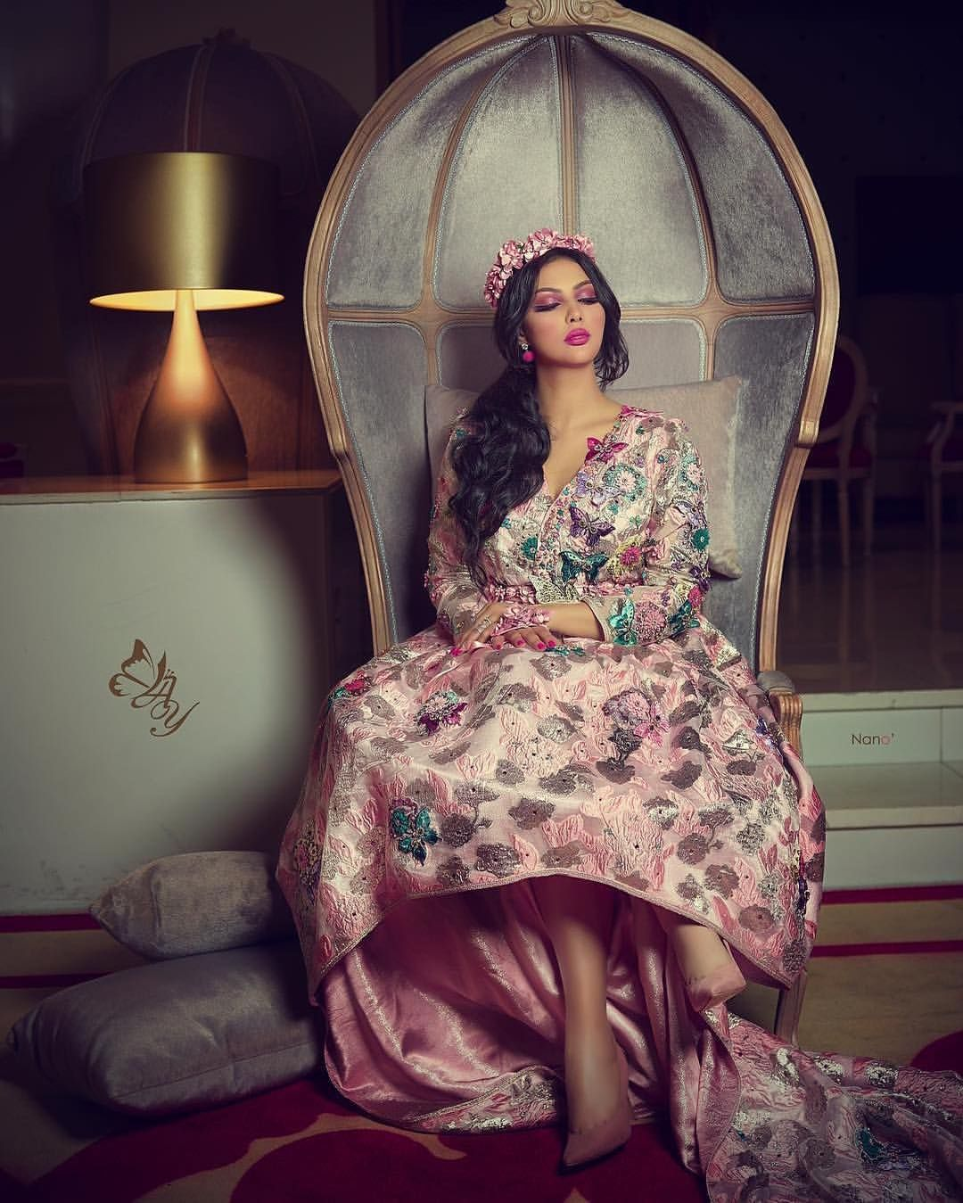 Ibtissam Tiskat On Instagram From My Last Shooting I Love U All Dressed By Styliste Abir El Dresses Moroccan Fashion Most Beautiful Indian Actress