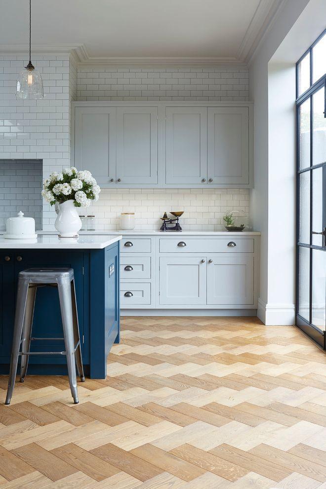 Blakely Flooring Industrial Kitchen Also Blue Island