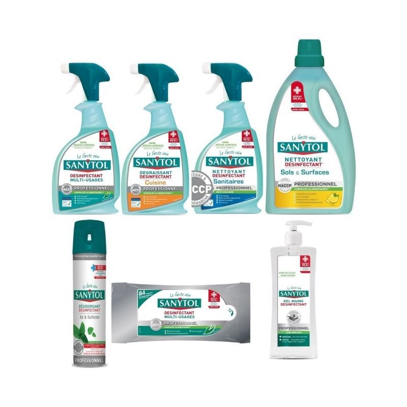 Nettoyant Sanitaire Professionnel Wc Douche Etc Cleaning