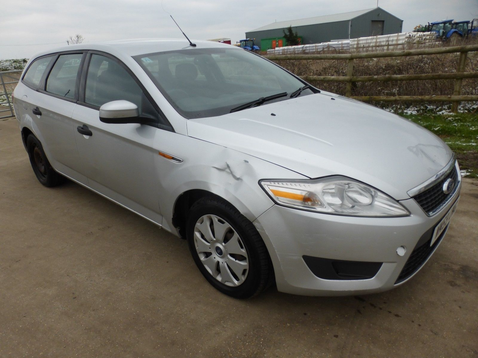 Ford mondeo edge tdci spares or repair export salvage