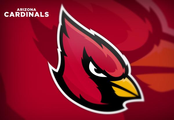 Arizona Cardinals Logo Redesigns Concept By Khisnen Pauvaday Via Behance Arizona Cardinals Logo Logo Redesign Arizona Cardinals
