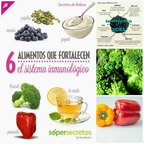 Descubre los alimentos que ayudan a aumentar las defensas - Alimentos para subir las defensas ...