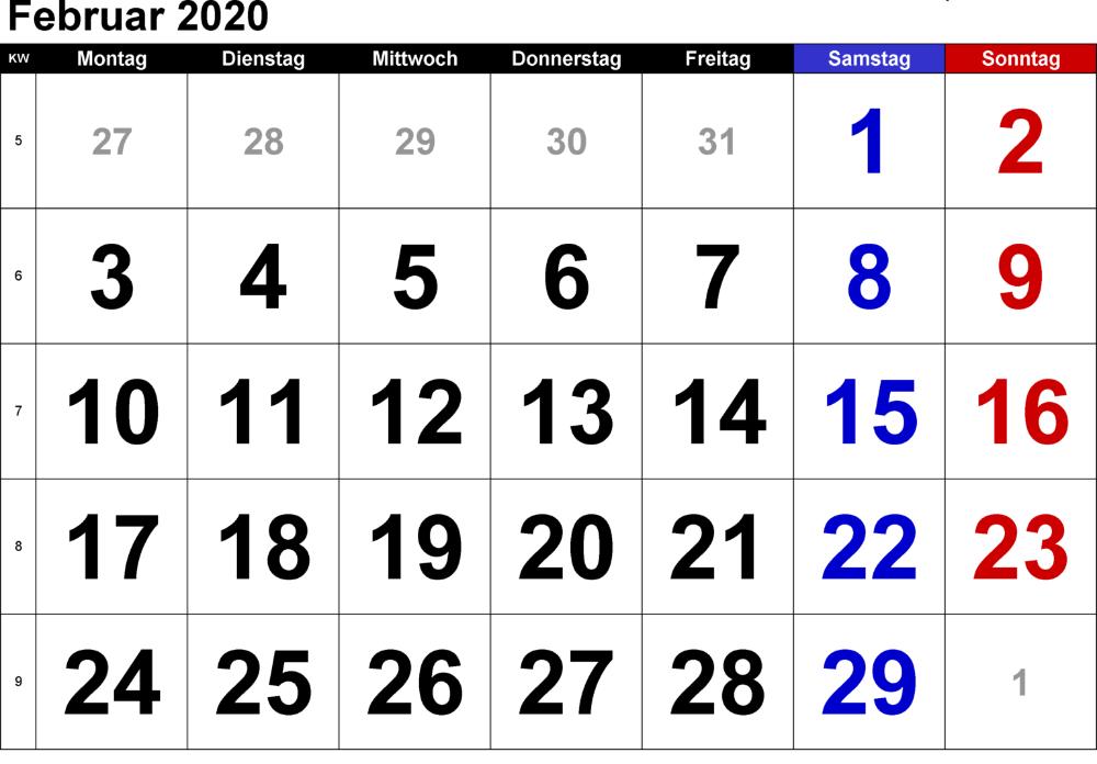 Kalender Februar 2020 Mit Feiertagen Nosuvia Com Calendar March Print Calendar November Calendar