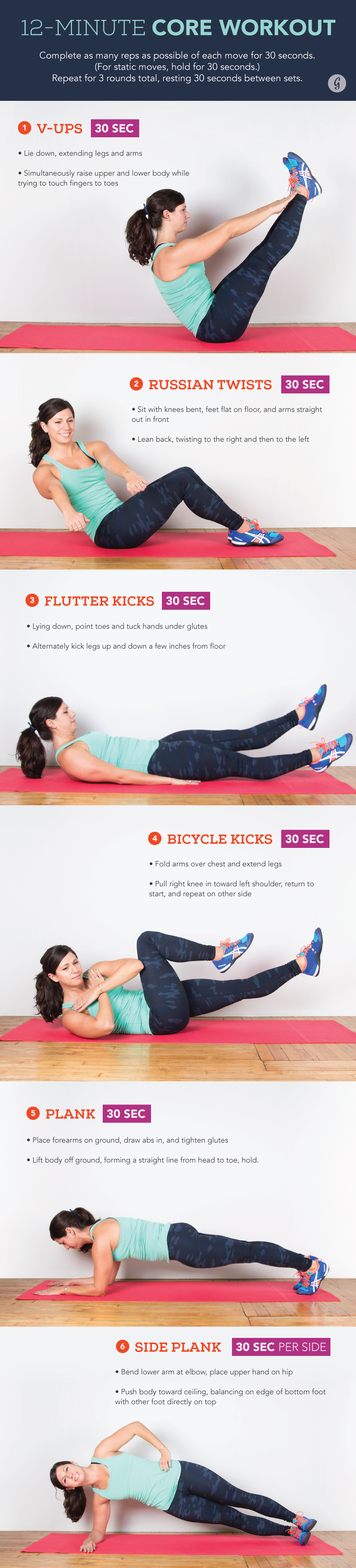 Bodyweight Exercises for Your Core
