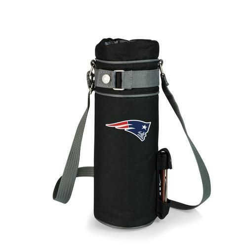 New England Patriots Wine Tote Single Bottle Insulated Sack