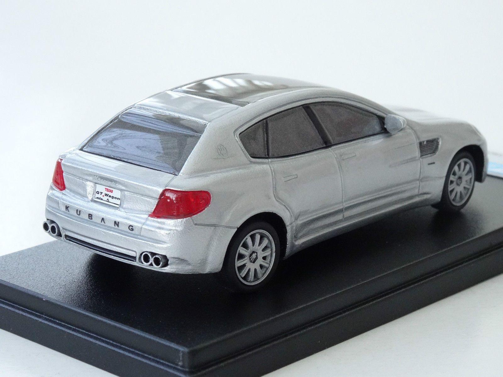 Alezan models . 1/43 . maserati kubang concept . detroit 2003 ...