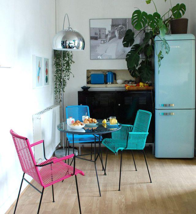 Déco salle à manger  12 idées pour apporter de la couleur Room