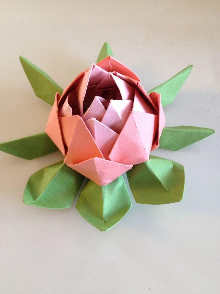 3squeezes diy origami lotus flower origami pinterest diy 3squeezes diy origami lotus flower izmirmasajfo