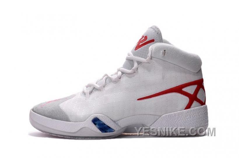 Air Jordan XXX Men Basketball Shoes 811006 101 White TzPsm