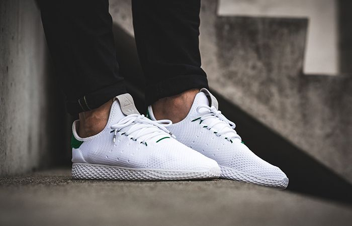 Adidas Pharrell Williams Tennis Hu White Green Ba7828 By2674 Buy New Sneakers Trainers For Man Women In Uk Europ Adidas Pharrell Williams New Sneakers Sneakers