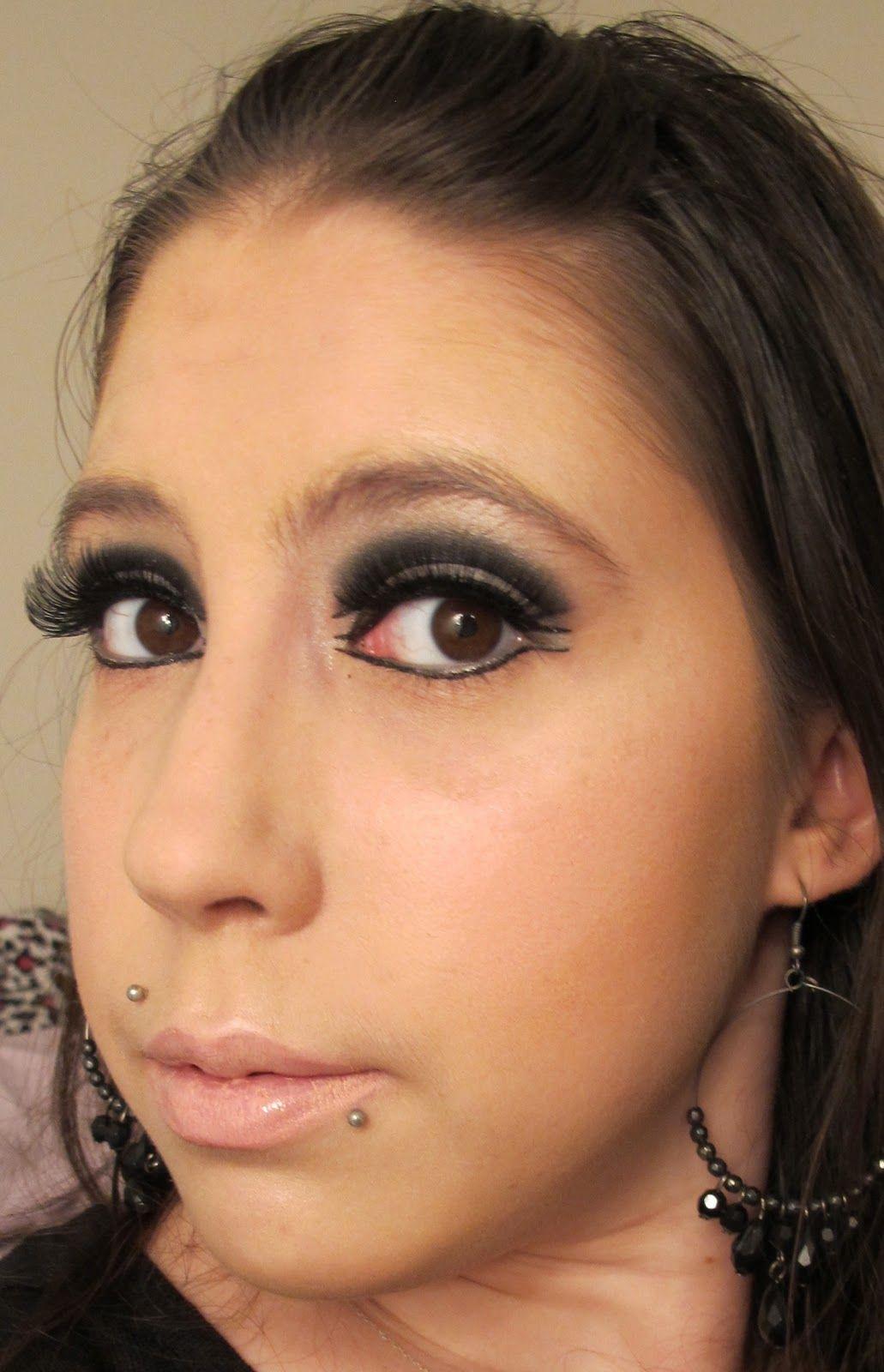 Steph Stud Makeup 60s Mod Makeup Look using MAC and a