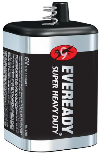 Eveready 1209 6v Super Heavy Duty Lantern Battery Each See This Great Lantern Flashlight Heavy Duty Energizer