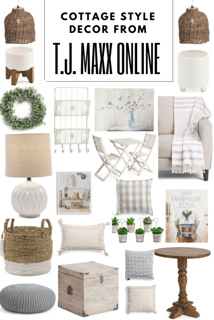 The Best Cottage Decor From TJ Maxx Online!