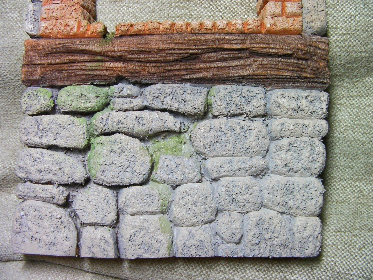 Como pintar ladrillos y piedras creemos pinterest for Tecnica para pintar piedras