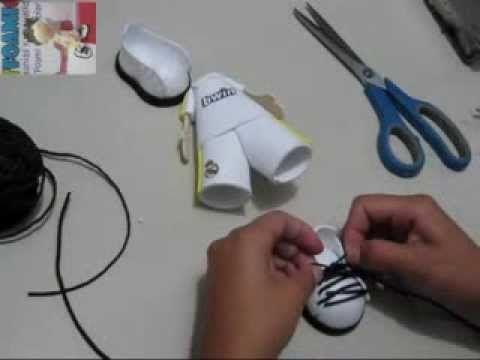 8f08e25972d DIY - FOFUPLUMA FUTBOLISTA - FOFUCHO FUTBOLISTA - FACIL FOAMY GOMA EVA  MICROPOROSO - YouTube