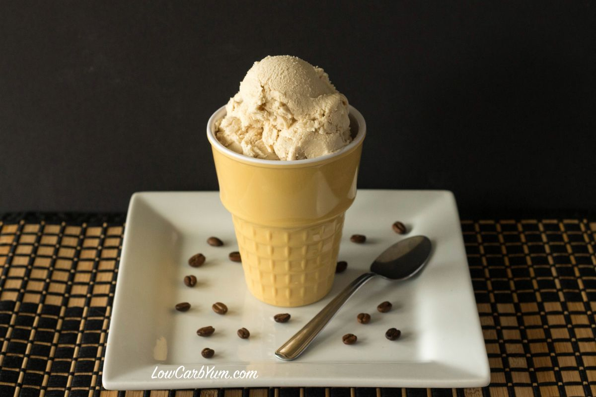 This is a low carb and sugar free homemade coffee ice cream without this is a low carb and sugar free homemade coffee ice cream without eggs in the ccuart Image collections