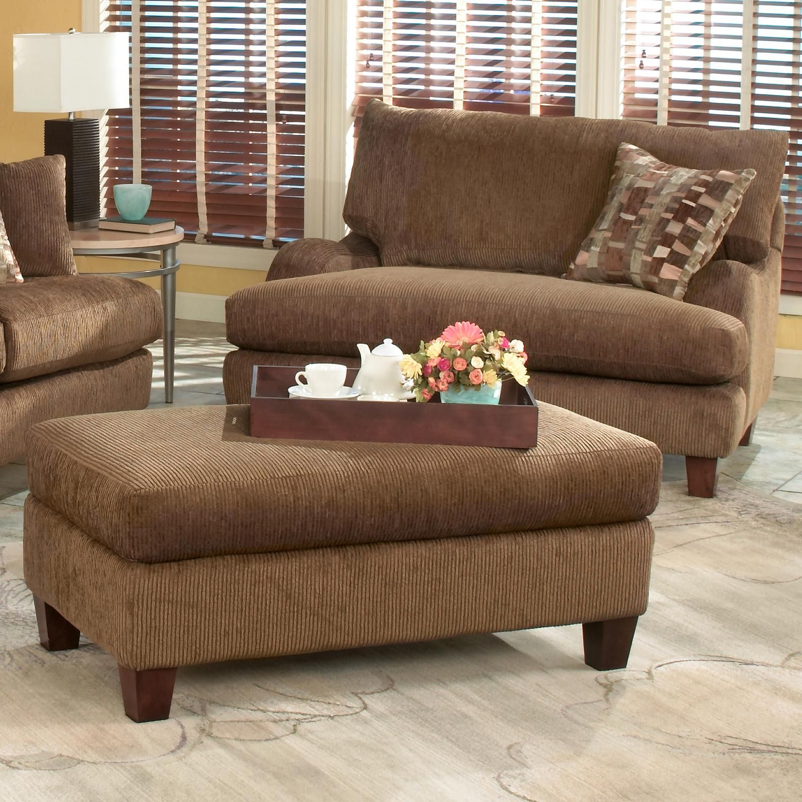 living room chair and ottoman set 1750 wide snuggler chair and ottoman set for 25467