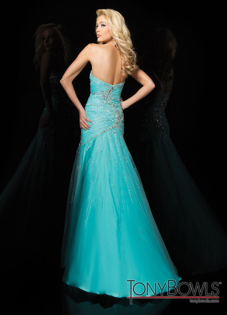 Beaded Tony Bowls Gown 114533 - More Colors Available | Tony bowls ...
