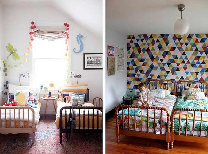 Dormitorios infantiles compartidos habitaciones - Habitaciones infantiles compartidas ...