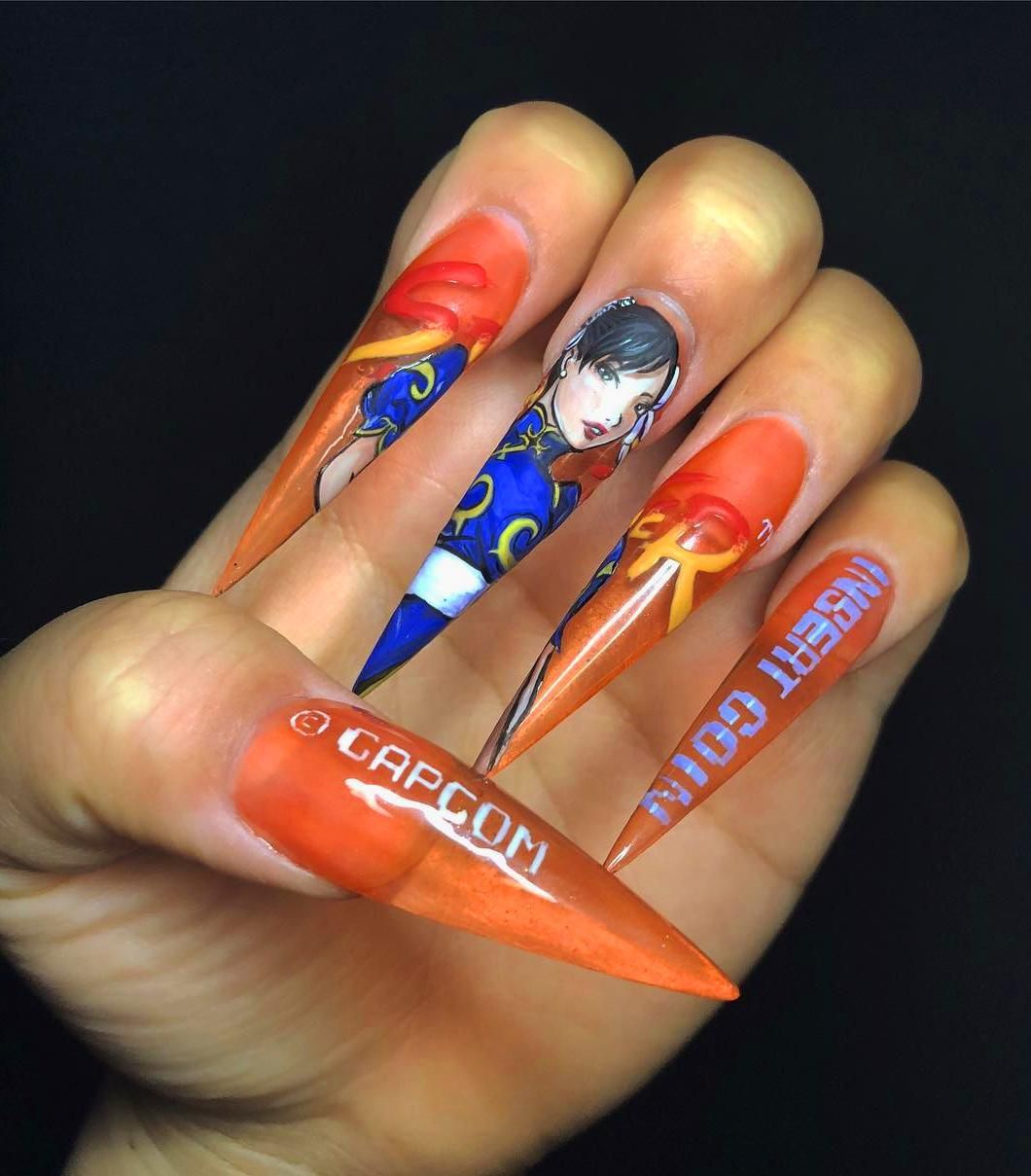 10 beautiful acrylic nails to stand out from the crowd