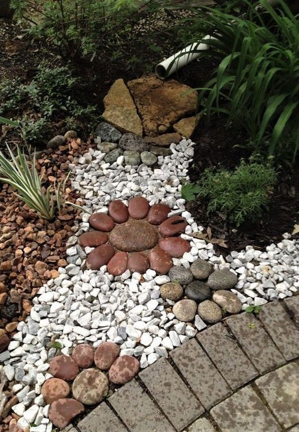 49 Brilliant Small Rock Gardens Ideas | Landscaping with ... on Small Garden Ideas With Rocks id=36852