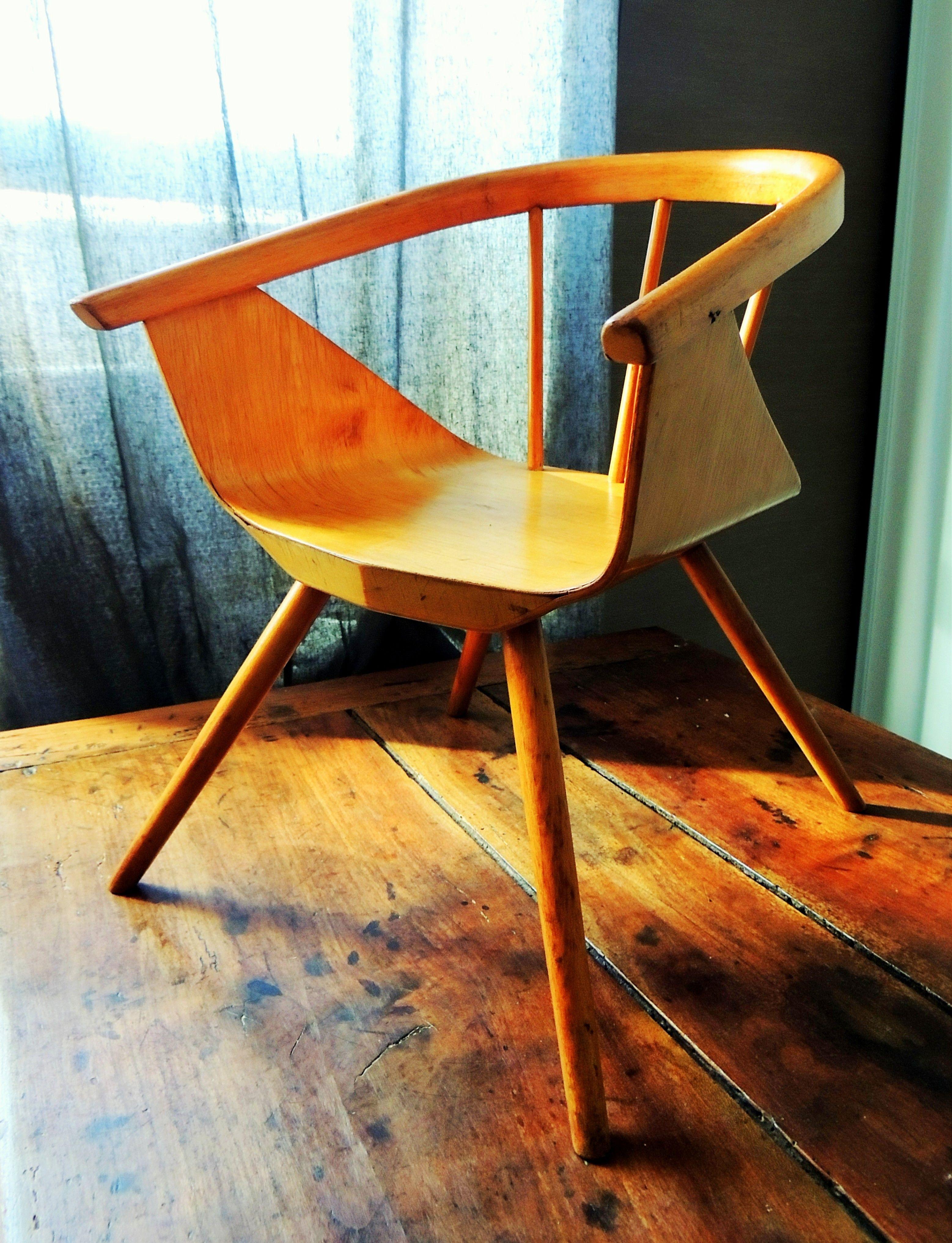 Chaise Enfant Par Charles & Ray Eames 50's