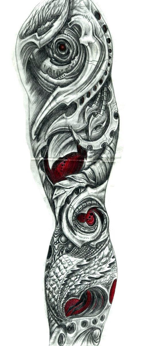 Biomechanical arm by sarcovenator on DeviantArt