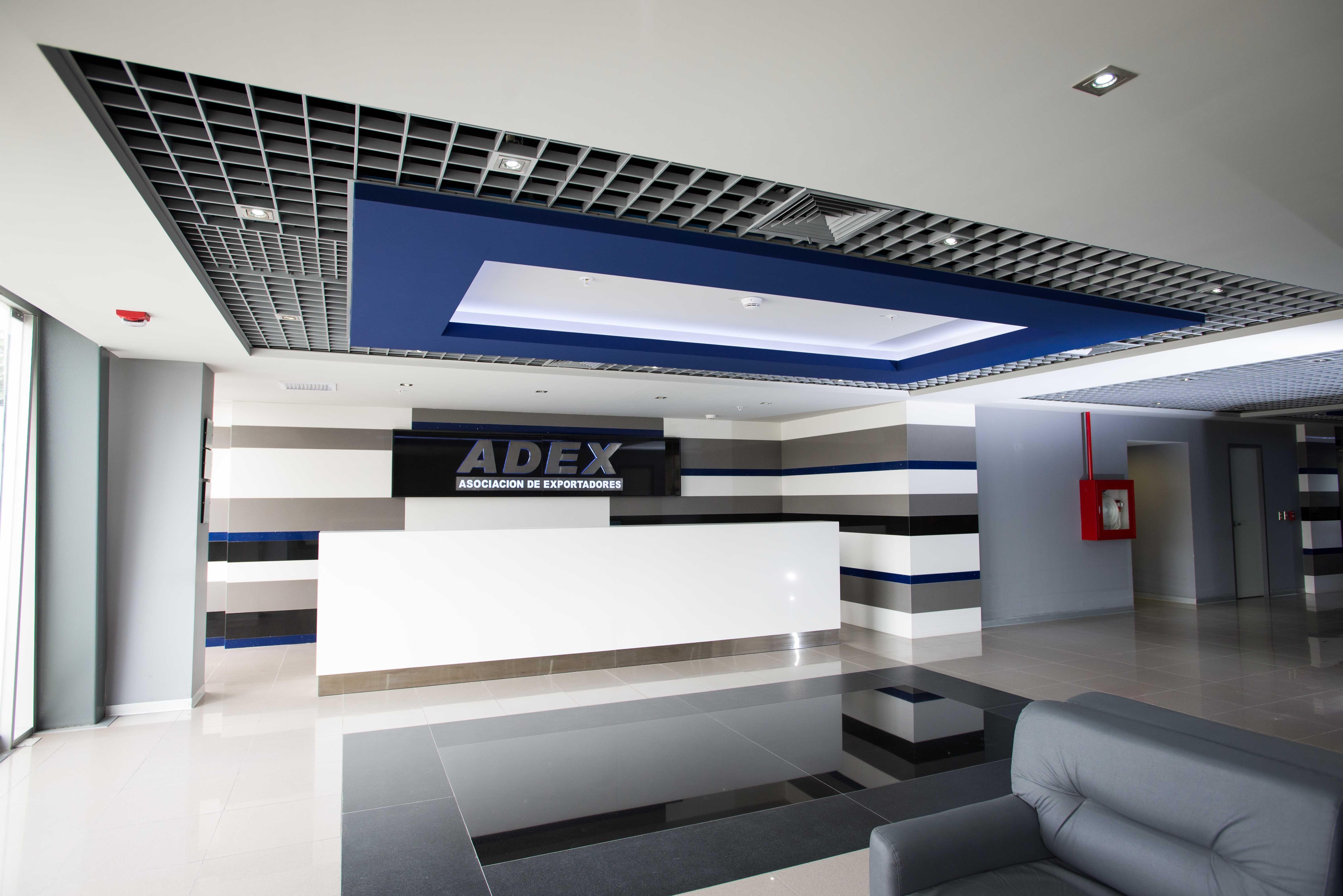 Proyecto de dise o interior de oficinas para adex ubicado for Diseno de interiores lima