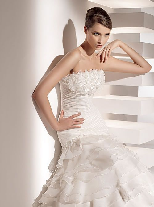 vestido de novia de corte princesa 2015 | all about wedding