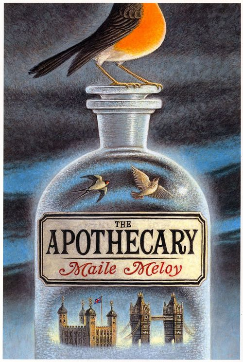 The Apothecary (Ian Schoenherr, cover art)