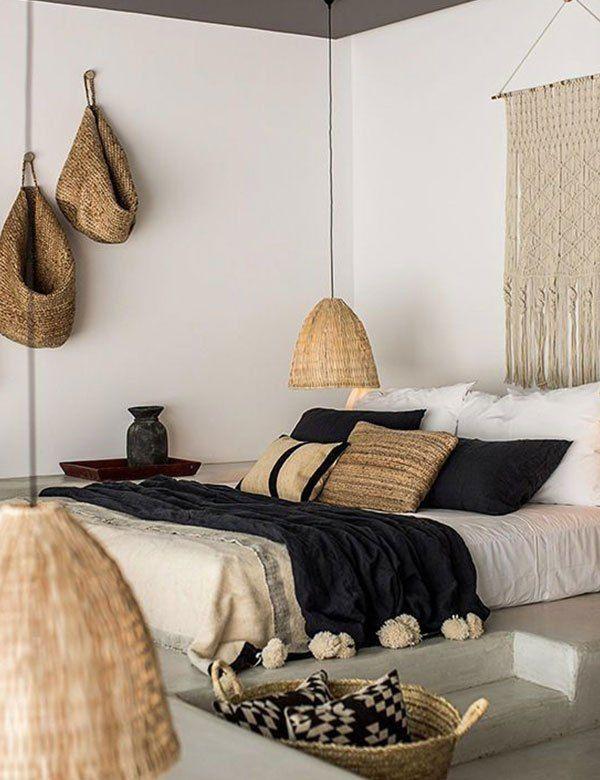 minimalist boho bedroom designs (11 stunning ideas will fall in love with!) | hotel bedroom
