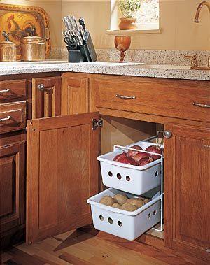 Image result for potato onion storage idea modular kitchen & Image result for potato onion storage idea modular kitchen | kitchen ...