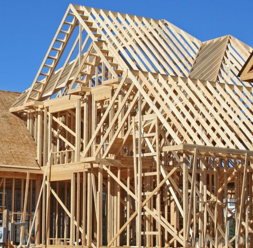 What is frame construction with pictures construction for Contractors for building houses
