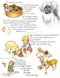 Dogs by Rien Poortvliet Abrams Publ.Inc 1983 page 153 (Poortvliet's 1st dog Amber)