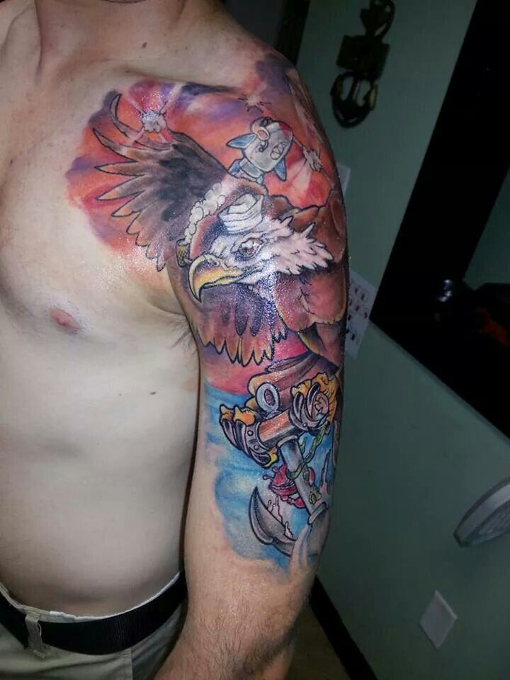monster ink #tattoos #jonathan gardipee #Pensacola #alternative ...