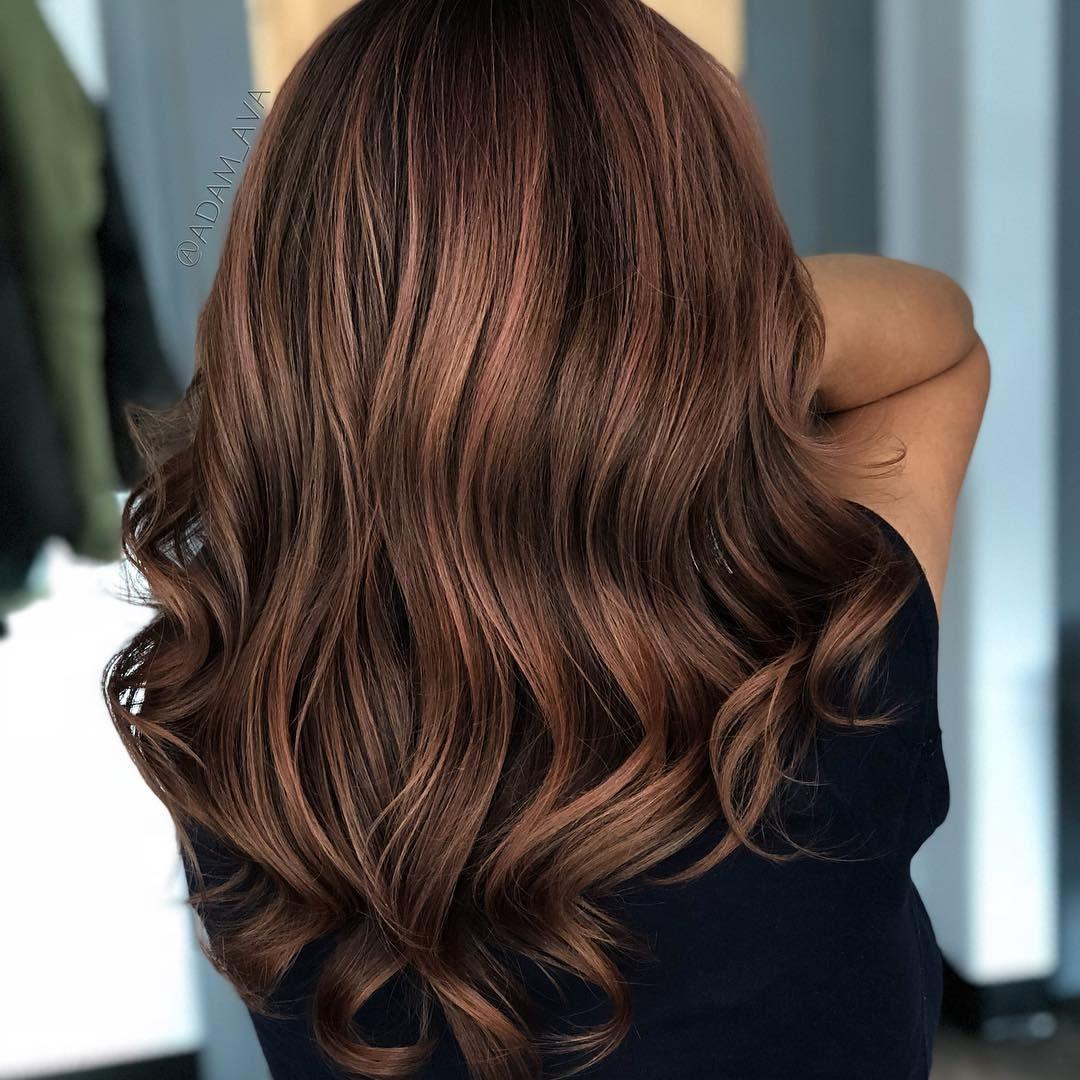Rose Brown ist der neue Haarfarben-Trend 2018 | ELLE