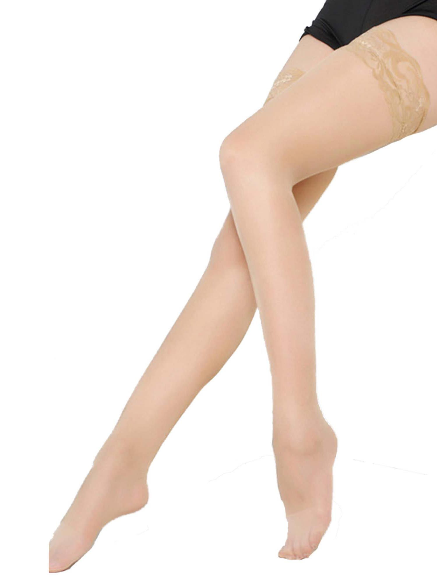 3bc4efeb8e693 Sexy Plus Size Stay Up Sheer Lace Top Thigh High Stocking Hosiery- size  16-20#Sheer#Lace#Top