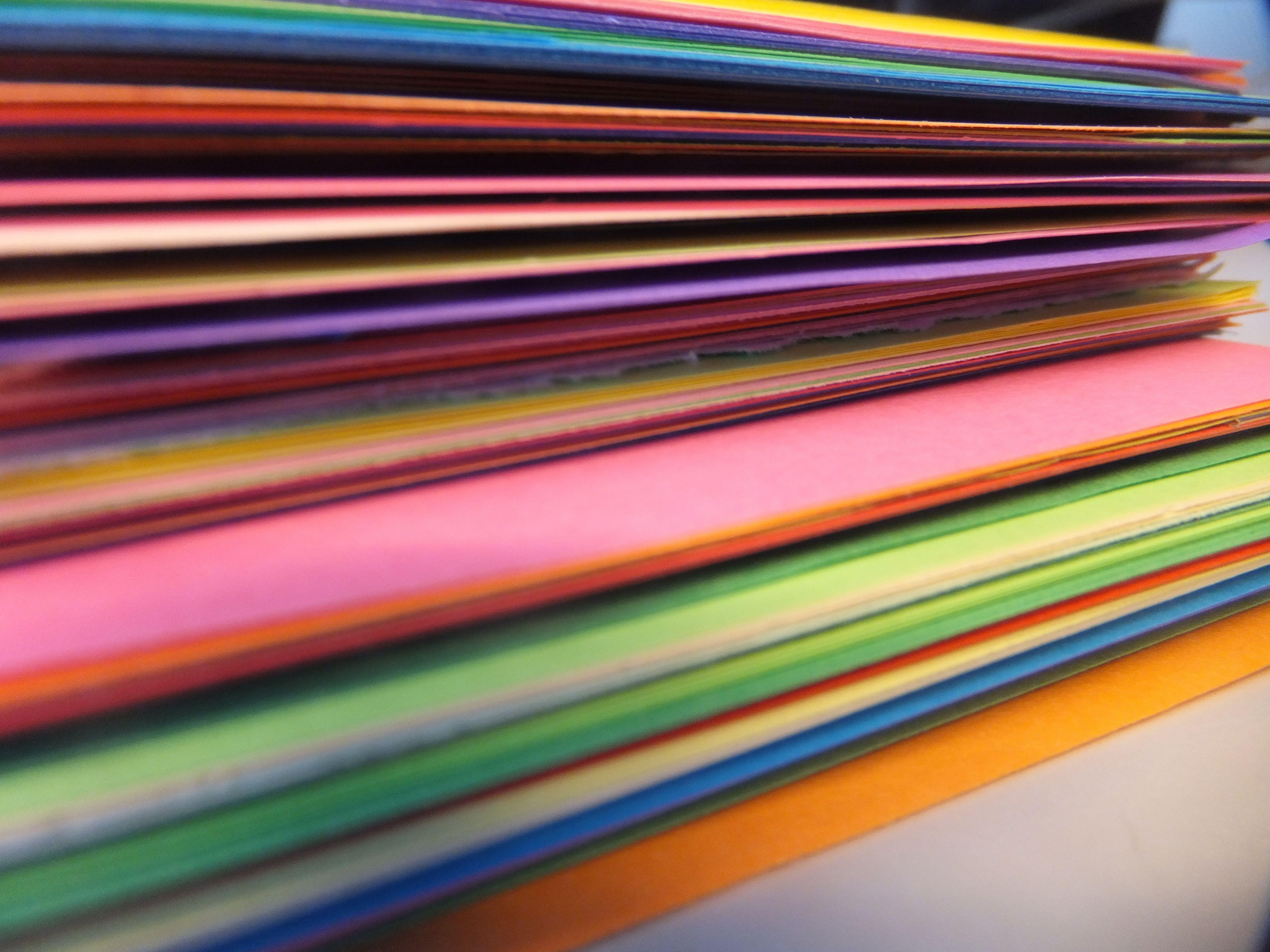 Warme & koude kleuren we hebben deze foto gemaakt van gekleurde