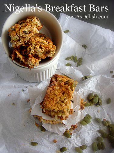 Nigella S Breakfast Bars So Addictive Breakfast Bars Recipe Breakfast Bars Cookie Bar Recipes