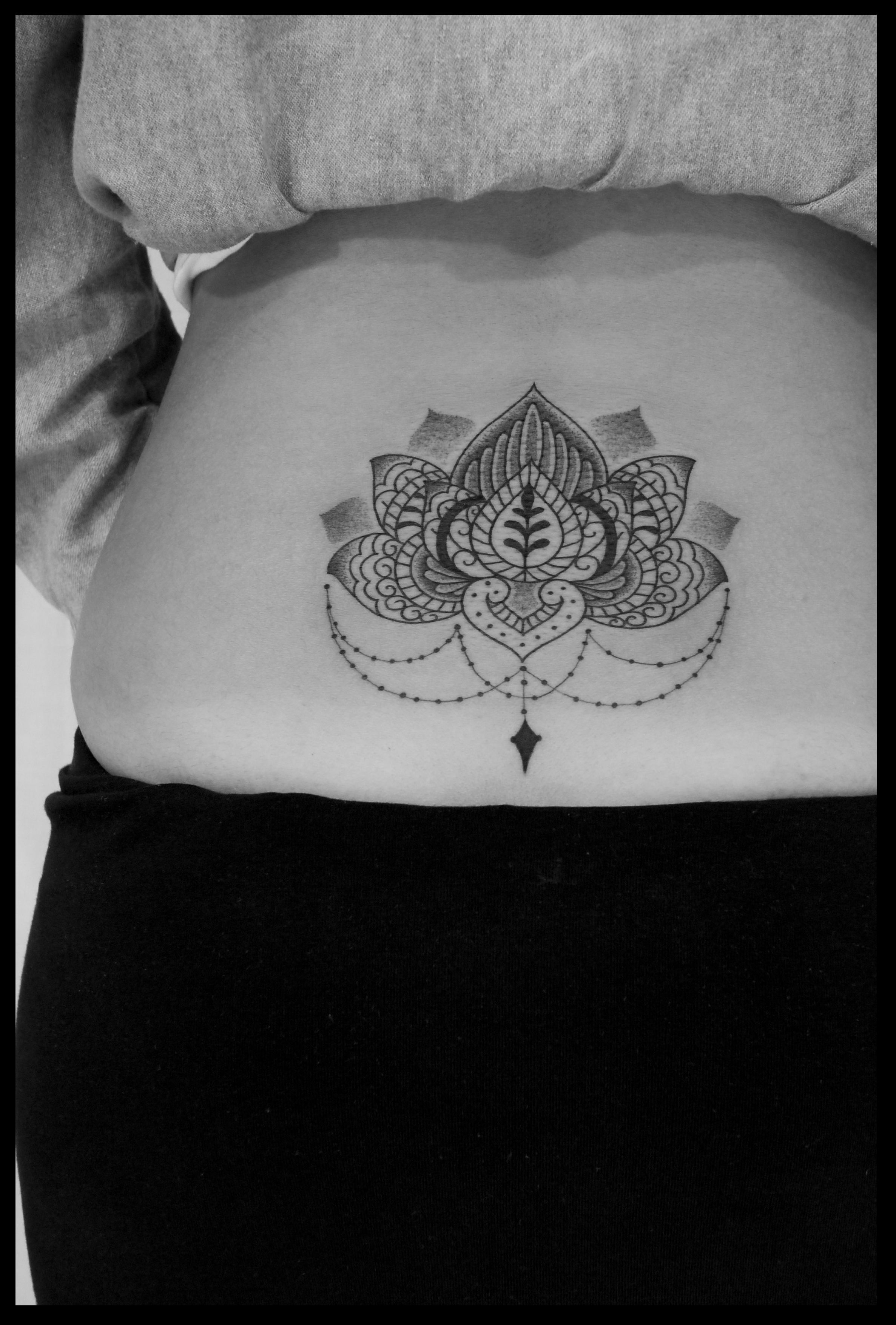 Mandala tattoo on pinterest lotus mandala tattoo lotus mandala - Mandala Jimmy Yuen Tattoo Lotus