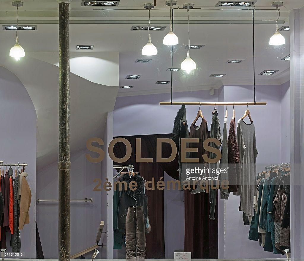 Bel Air - Paris. window display 2014 as Part of the World Fashion...