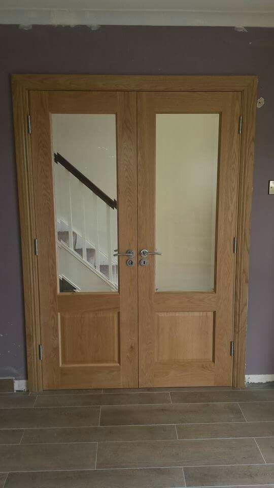 Oakdoors Frenchdoors Oak Bevelled Glass Doors Oak Doors