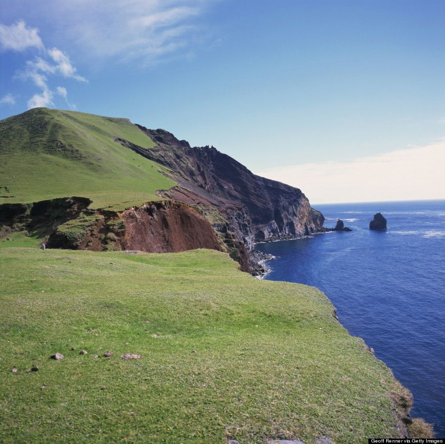Tristan da Cunha because of its rugged landscape, lack of natural ...