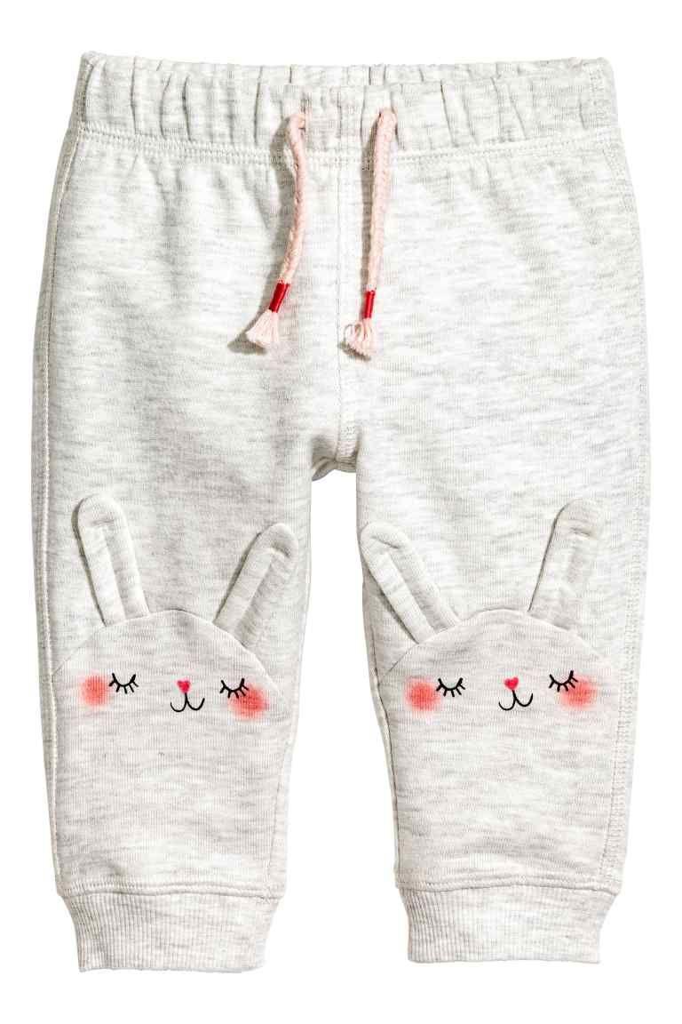 Pantalon jogger - Gris -  664ec77d31de0