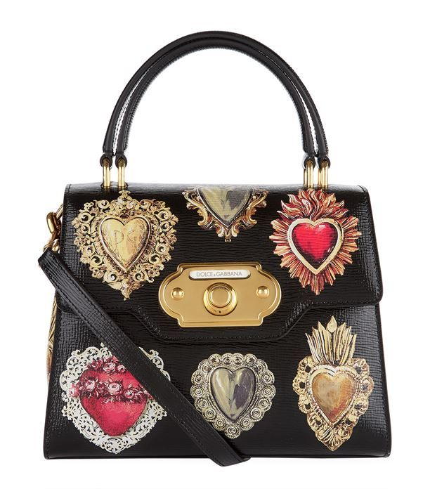 f695dd2e28 Dolce & Gabbana Welcome Majolica Handbag available to buy at Harrods.Shop  for her online and earn Rewards points.