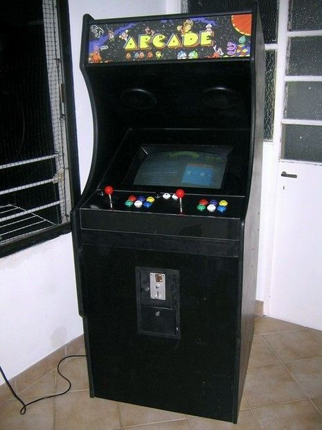 Homemade Arcade Cabinet House Projects Diy Arcade