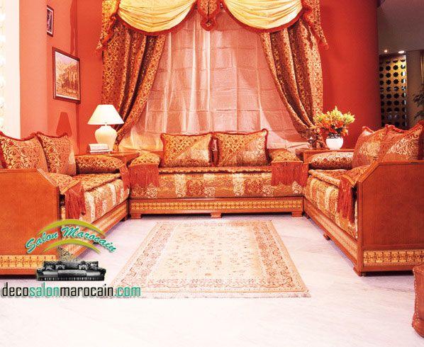 Salon marocain deco   interior design   Pinterest   Salons ...