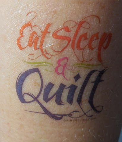 Here's the latest in our quilt themed temporary tattoos. I sell ... : temporary quilt tattoos - Adamdwight.com