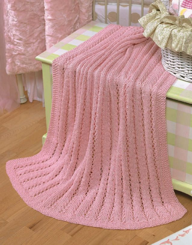 Our Best Knit Baby Afghans Book 2   Quick knits, Baby ...